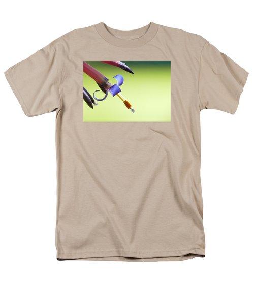 Fleur-de-lis Men's T-Shirt  (Regular Fit) by Evelyn Tambour