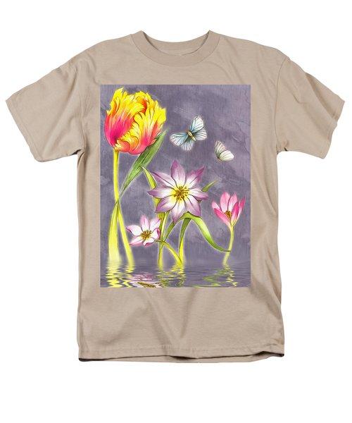 Floral Supreme Men's T-Shirt  (Regular Fit) by Mario Carini