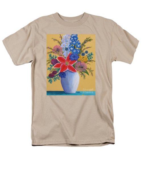 Florist's Creation Men's T-Shirt  (Regular Fit) by Anne Marie Brown