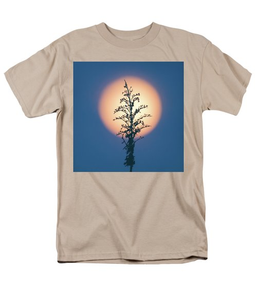 Flower Moon May 2017 Square Men's T-Shirt  (Regular Fit) by Terry DeLuco