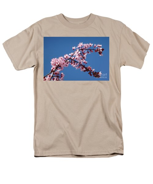 Flowering Of The Plum Tree 4 Men's T-Shirt  (Regular Fit) by Jean Bernard Roussilhe