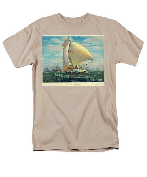 Men's T-Shirt  (Regular Fit) featuring the photograph Flying Defender 1895 by Padre Art