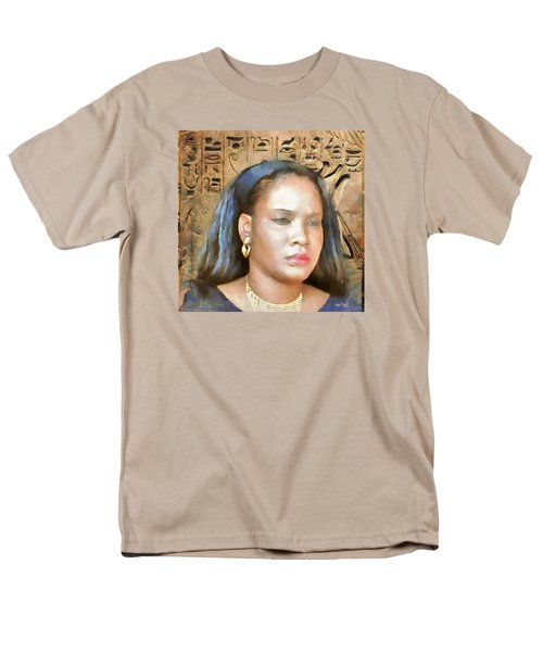 Men's T-Shirt  (Regular Fit) featuring the painting For Nicole Edwards by Wayne Pascall