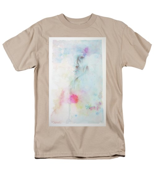 Men's T-Shirt  (Regular Fit) featuring the painting Forlorn Me by Rachel Hames