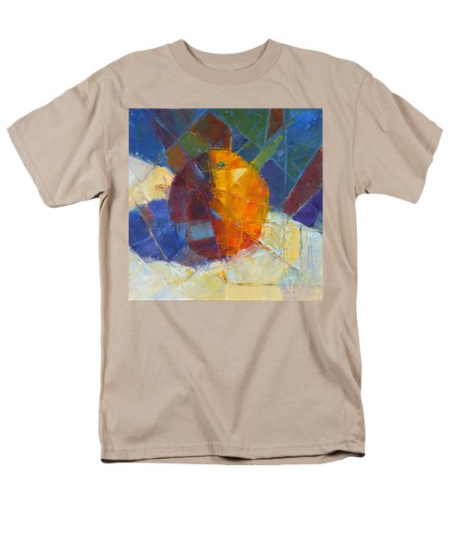 Fractured Orange Men's T-Shirt  (Regular Fit) by Susan Woodward