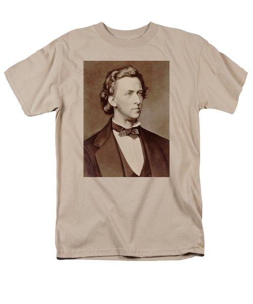 Frederic Chopin Men's T-Shirt  (Regular Fit) by Tilen Hrovatic