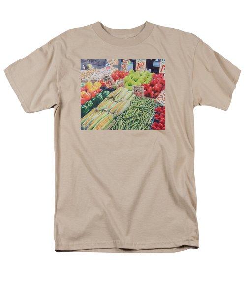 Fresh Green Beans Men's T-Shirt  (Regular Fit)