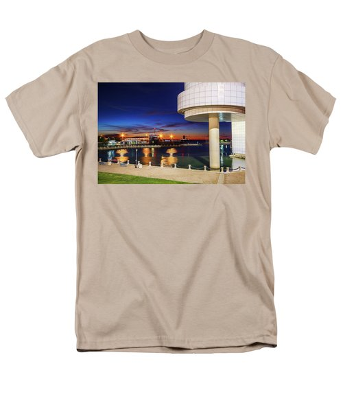 Men's T-Shirt  (Regular Fit) featuring the photograph From The Rock Hall by Brent Durken