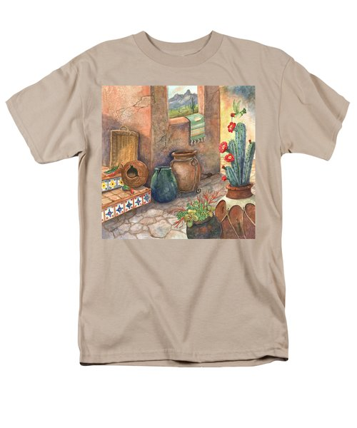 Men's T-Shirt  (Regular Fit) featuring the painting From This Earth by Marilyn Smith