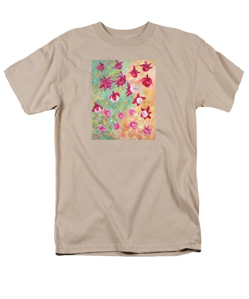 Fuchsias Men's T-Shirt  (Regular Fit) by Elizabeth Lock