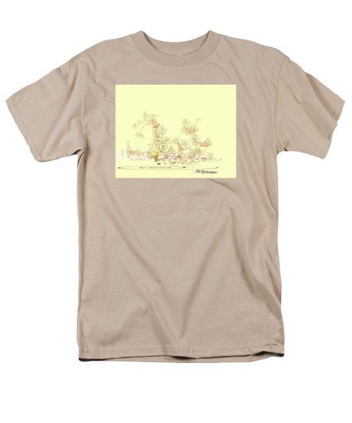 Men's T-Shirt  (Regular Fit) featuring the drawing Fun by Jim Hubbard