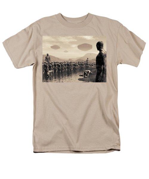 Future Cattle Men's T-Shirt  (Regular Fit)