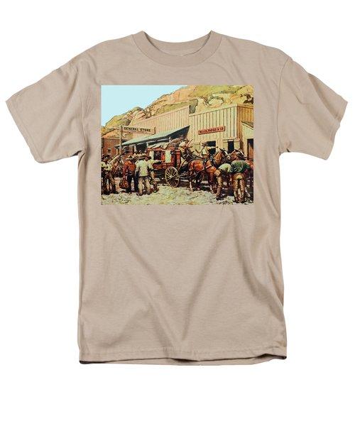 General Store Men's T-Shirt  (Regular Fit) by Susan Leggett