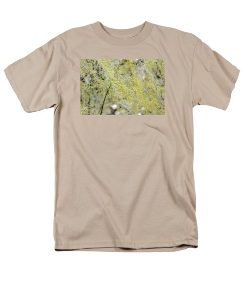 Gentle Weeds Men's T-Shirt  (Regular Fit) by Deborah  Crew-Johnson