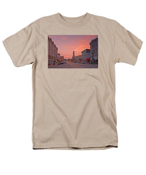 Georgetown Kentucky Men's T-Shirt  (Regular Fit) by Ulrich Burkhalter