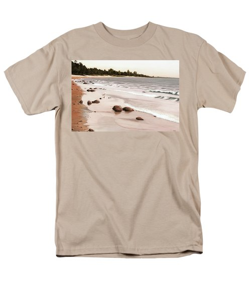 Georgian Bay Beach Men's T-Shirt  (Regular Fit) by Kenneth M  Kirsch