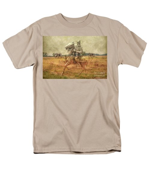 Ghosts Of Gettysburg II Men's T-Shirt  (Regular Fit) by Randy Steele