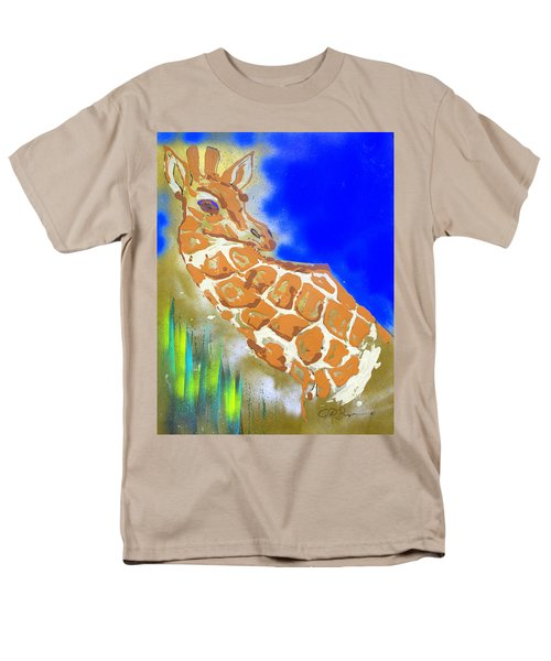 Giraffe Men's T-Shirt  (Regular Fit) by J R Seymour