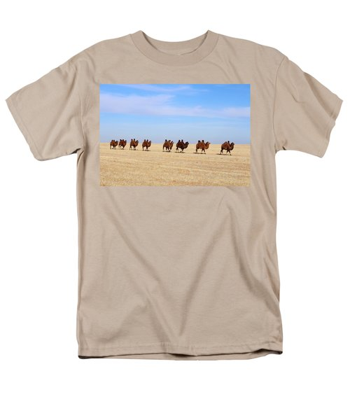 Gobi Camels Men's T-Shirt  (Regular Fit) by Diane Height