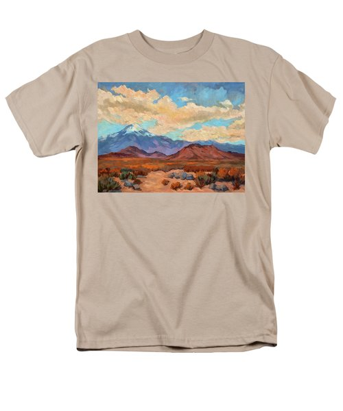 God's Creation Mt. San Gorgonio  Men's T-Shirt  (Regular Fit) by Diane McClary