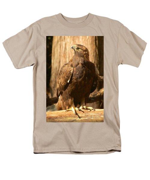 Golden Eagle Men's T-Shirt  (Regular Fit) by Sean Griffin