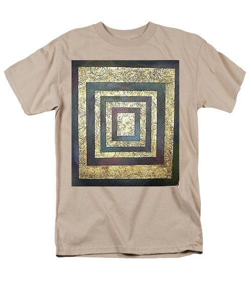 Golden Fortress Men's T-Shirt  (Regular Fit) by Bernard Goodman
