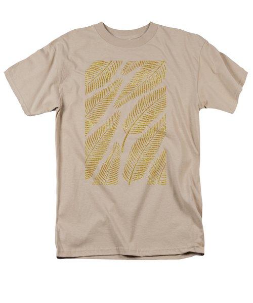 Golden Palm Men's T-Shirt  (Regular Fit) by Uma Gokhale