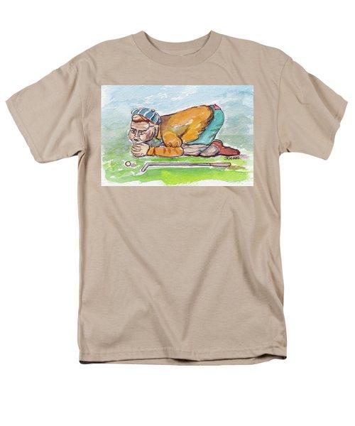 Golfer With Hot Air Men's T-Shirt  (Regular Fit)