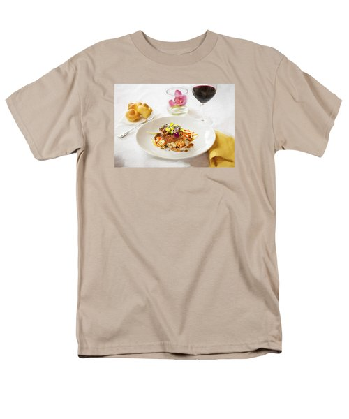 Good Eats Men's T-Shirt  (Regular Fit) by Rich Franco