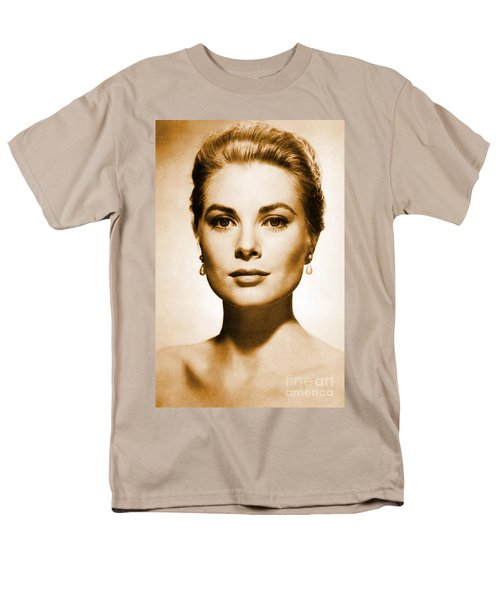 Grace Kelly Men's T-Shirt  (Regular Fit) by Opulent Creations
