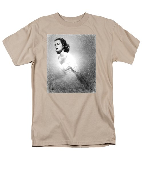 Grace Kelly Sketch Men's T-Shirt  (Regular Fit) by Quim Abella