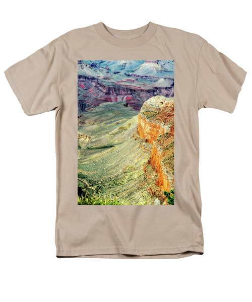 Grand Canyon Abstract Men's T-Shirt  (Regular Fit) by Robert FERD Frank