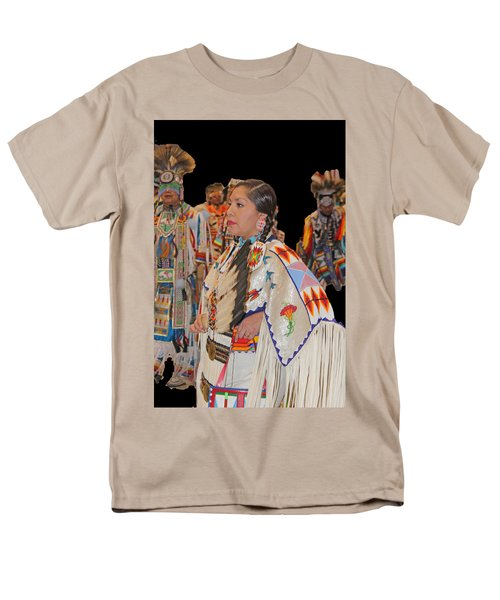 Grand Entry-4 Men's T-Shirt  (Regular Fit) by Audrey Robillard