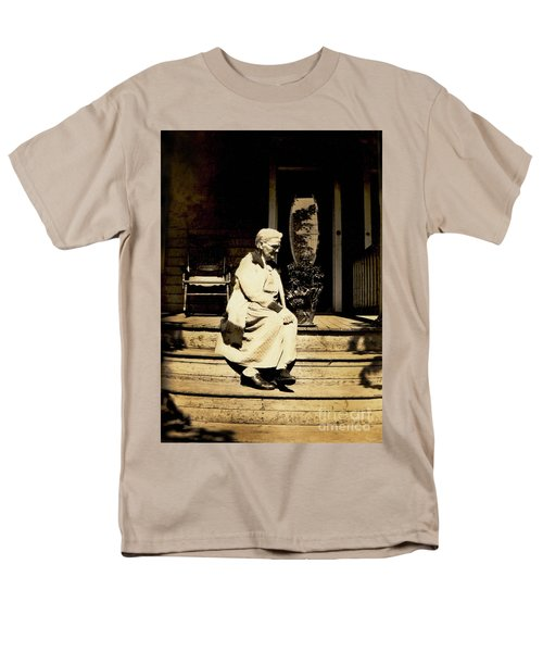 Men's T-Shirt  (Regular Fit) featuring the photograph Grandma Jennie by Paul W Faust - Impressions of Light