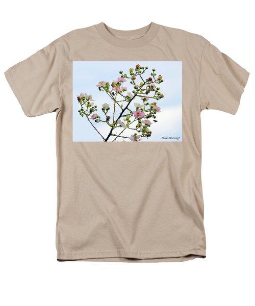 Grasping For The Hands Of Heaven Men's T-Shirt  (Regular Fit) by Steve Warnstaff