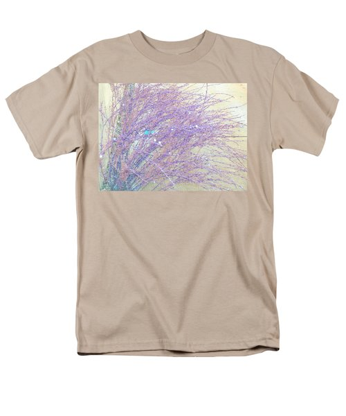 Men's T-Shirt  (Regular Fit) featuring the photograph Grasses Toward The Sun by Lenore Senior