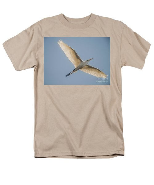 Men's T-Shirt  (Regular Fit) featuring the photograph Great White Egret by David Bearden