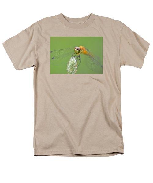 Green Angles Men's T-Shirt  (Regular Fit) by Janet Rockburn