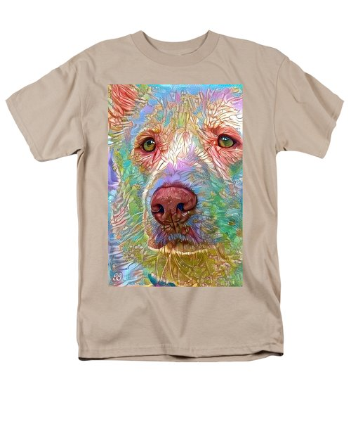 Men's T-Shirt  (Regular Fit) featuring the digital art Green Eyes by Geri Glavis