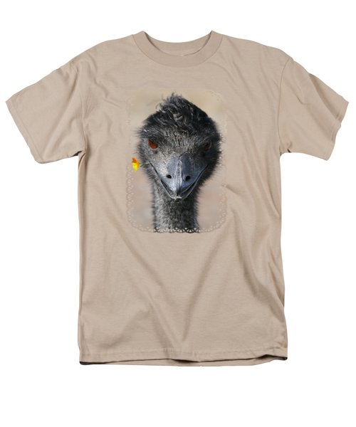 Happy Emu Men's T-Shirt  (Regular Fit) by Ivana Westin