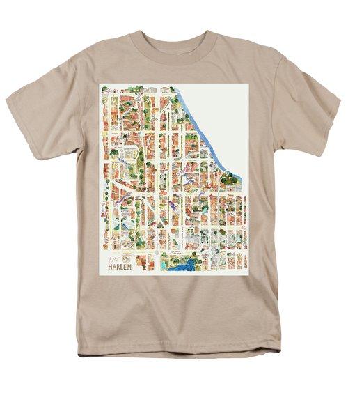 Harlem From 110-155th Streets Men's T-Shirt  (Regular Fit) by Afinelyne