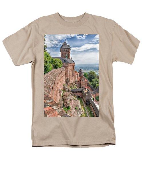 Haut-koenigsbourg Men's T-Shirt  (Regular Fit) by Alan Toepfer