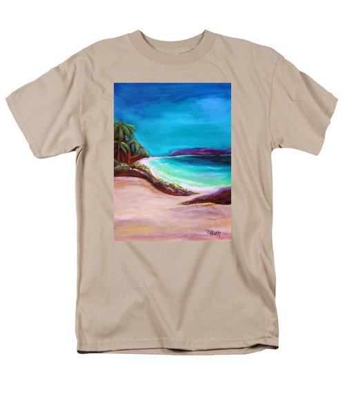 Hawaiin Blue Men's T-Shirt  (Regular Fit) by Patricia Piffath