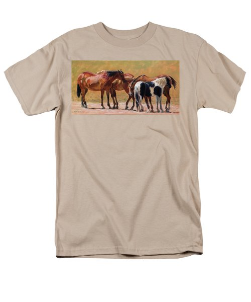Heads Or Tails Men's T-Shirt  (Regular Fit) by Bonnie Mason