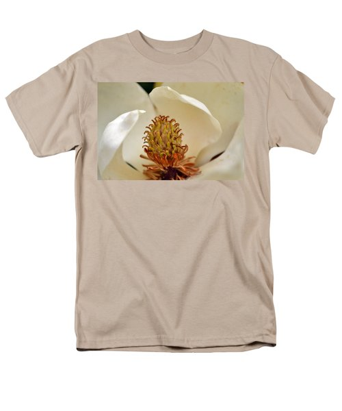 Men's T-Shirt  (Regular Fit) featuring the photograph Heart Of Magnolia by Larry Bishop