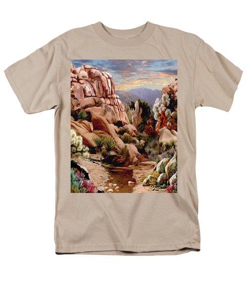 Hidden Valley Trail Men's T-Shirt  (Regular Fit) by Ron Chambers