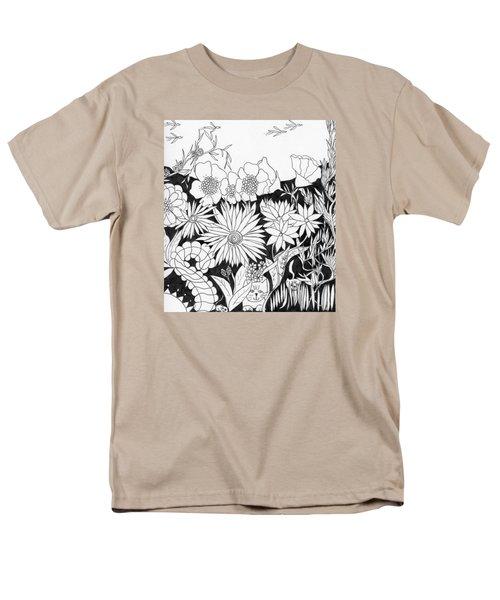 Hide And Seek Men's T-Shirt  (Regular Fit)