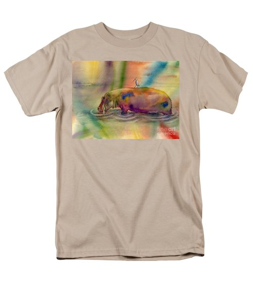Hippy Dippy Men's T-Shirt  (Regular Fit) by Amy Kirkpatrick