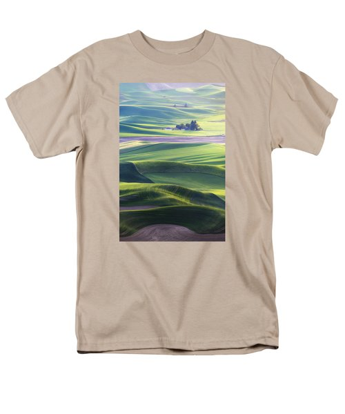 Homestead In The Hills Men's T-Shirt  (Regular Fit) by Ryan Manuel