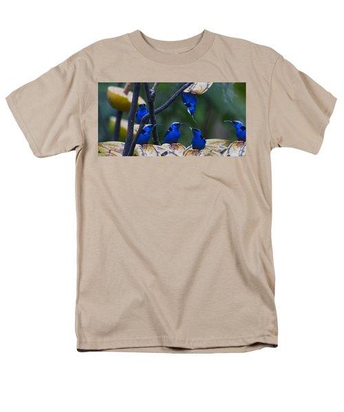 Honeycreeper Men's T-Shirt  (Regular Fit) by Betsy Knapp